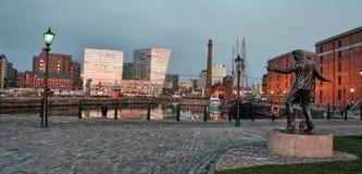Docas de Liverpool Imagem de Stock