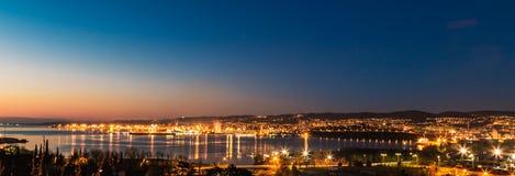 Docas de Trieste Imagens de Stock Royalty Free
