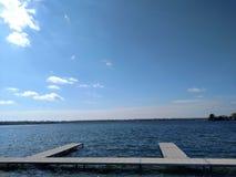 Docas do lago Imagem de Stock