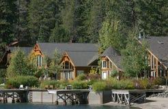 Docas Home da montanha Imagens de Stock Royalty Free