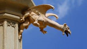 Doccione del castello di Lednice, repubblica Ceca Immagini Stock