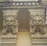 Doccioni gotici in Italia Immagine Stock
