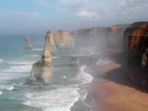 Doce apóstoles Australia imagenes de archivo