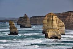 Doce apóstoles en Australia imagen de archivo libre de regalías