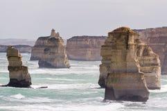 Doce apóstoles en Victoria, Australia Imagenes de archivo