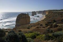Doce apóstoles - gran camino del océano Foto de archivo