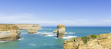 Doce apóstoles, gran camino del océano a lo largo de Victoria Coast, Australi Fotografía de archivo