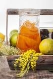Doce de fruta alaranjado Imagens de Stock Royalty Free