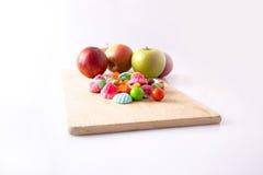 Doce de fruta do fruto Fotografia de Stock Royalty Free