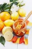 Doce do citrino Fotografia de Stock