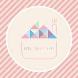 Doce home home1 Foto de Stock Royalty Free