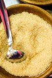 Doce principal favorito e saúde do açúcar mascavado do condimento imagem de stock