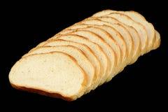 Doce rebanadas de pan Imagen de archivo libre de regalías
