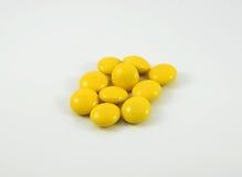 Doces amarelos Foto de Stock Royalty Free