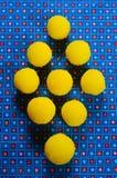 Doces amarelos Foto de Stock