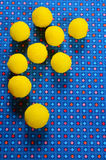 Doces amarelos Fotografia de Stock