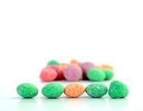 Doces, bombons com sabor do fruto Foto de Stock