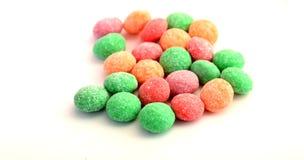 Doces, bombons com sabor do fruto Fotos de Stock