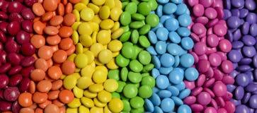 Doces coloridos Imagens de Stock