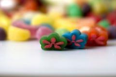 Doces coloridos foto de stock