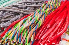 Doces coloridos deliciosos Imagem de Stock
