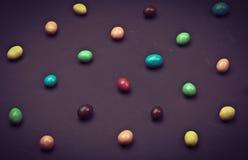 Doces coloridos diferentes redondos Fotografia de Stock Royalty Free