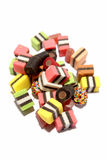 Doces coloridos do alcaçuz Fotos de Stock