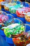 Doces coloridos doces Fotografia de Stock Royalty Free