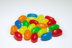 Doces coloridos doces com sabores diferentes imagens de stock royalty free