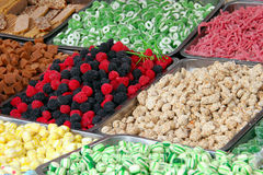 Doces coloridos dos doces Fotos de Stock