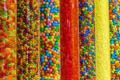 Doces coloridos em uma loja Imagem de Stock Royalty Free