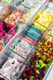 Doces coloridos misturados da geléia Fotos de Stock Royalty Free
