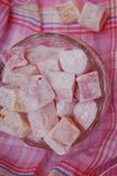 Doces cor-de-rosa Fotos de Stock