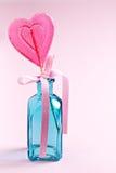 doces Coração-dados forma Fotografia de Stock Royalty Free