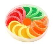 Doces da geléia de fruta Fotos de Stock