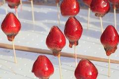 Doces da morango em japão Imagem de Stock