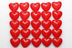 Doces dados forma coração Fotos de Stock Royalty Free
