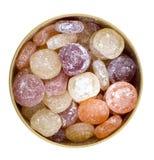 Doces de açúcar em uma caixa Foto de Stock Royalty Free