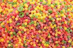 Doces de açúcar macios Imagem de Stock Royalty Free