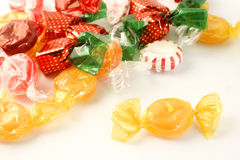 Doces de açúcar Fotos de Stock Royalty Free