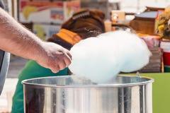 Doces de algodão Yummy Fotos de Stock
