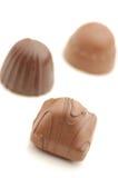 Doces de chocolate Foto de Stock
