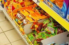 Doces de chocolate Imagem de Stock Royalty Free