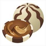 Doces de chocolate Fotos de Stock Royalty Free