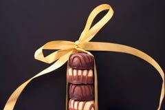 Doces de chocolate imagens de stock