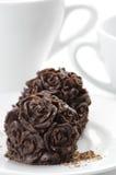 Doces de chocolate caseiros Imagem de Stock Royalty Free