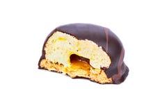 Doces de chocolate mordidos Imagem de Stock Royalty Free