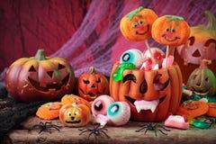 Doces de Halloween Imagem de Stock Royalty Free