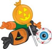 Doces de Halloween Fotografia de Stock Royalty Free