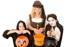 Doces de Halloween por favor Fotografia de Stock Royalty Free